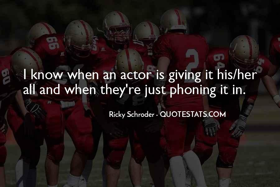Best Ricky Quotes #137035