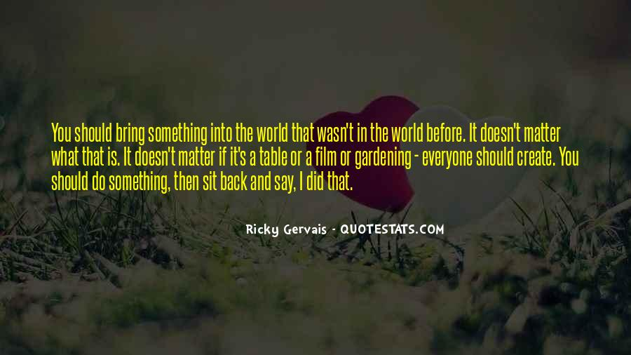 Best Ricky Quotes #159332