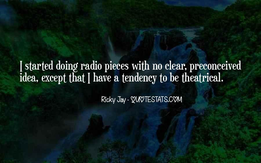 Best Ricky Quotes #88607