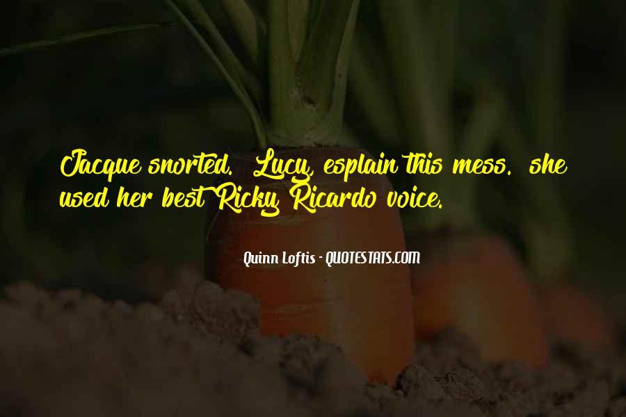 Best Ricky Ricardo Quotes #1196445