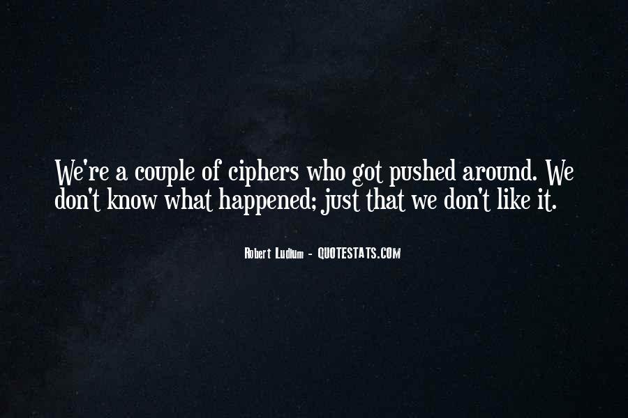Best Robert Ludlum Quotes #346251