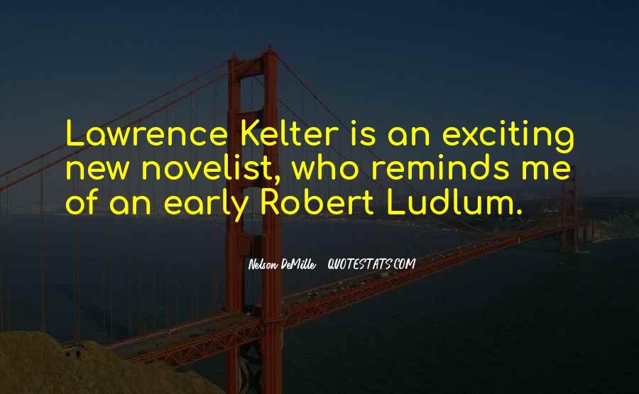 Best Robert Ludlum Quotes #404042