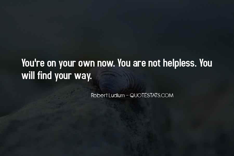 Best Robert Ludlum Quotes #423051
