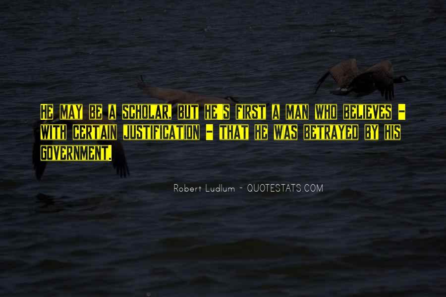 Best Robert Ludlum Quotes #510114