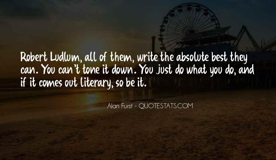 Best Robert Ludlum Quotes #62643