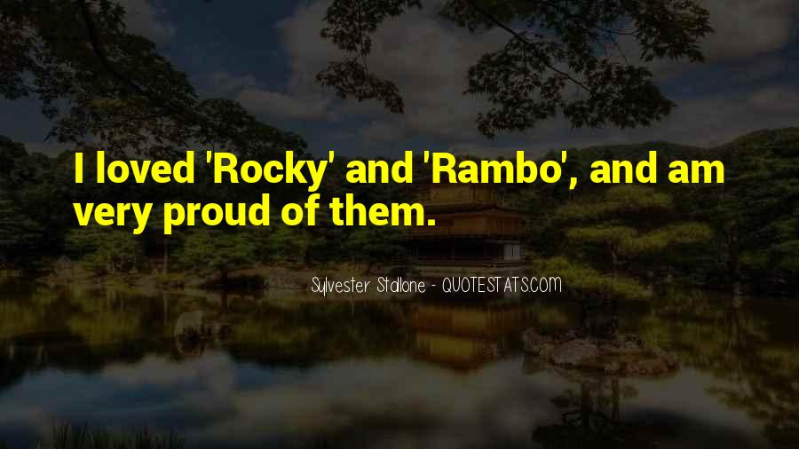 Best Rocky 1 Quotes #28802