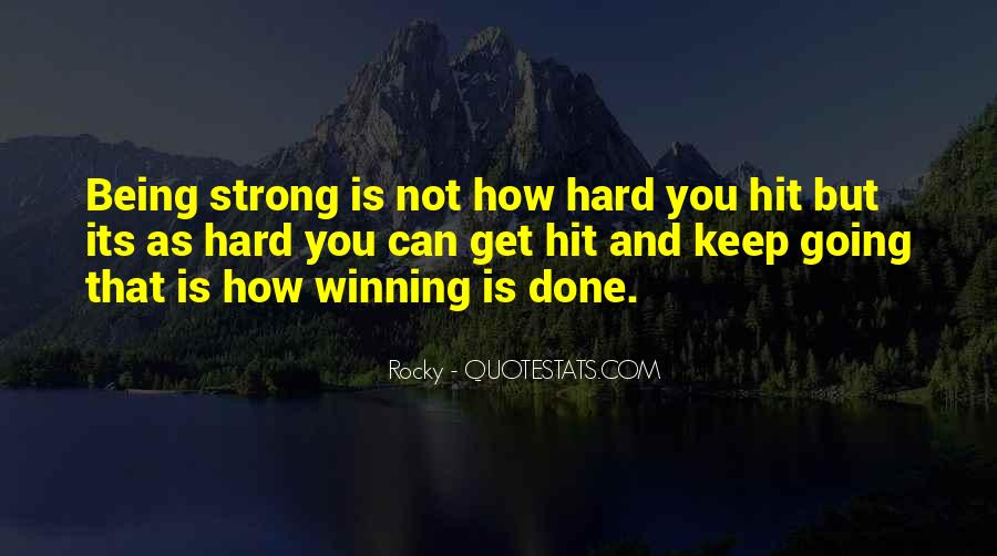 Best Rocky 1 Quotes #88138