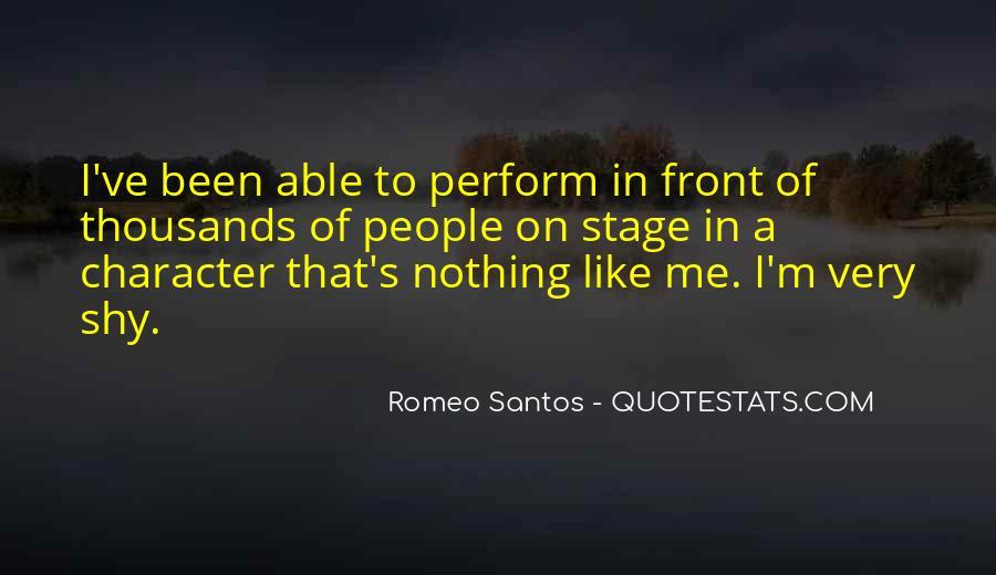 Best Romeo Santos Quotes #1183567