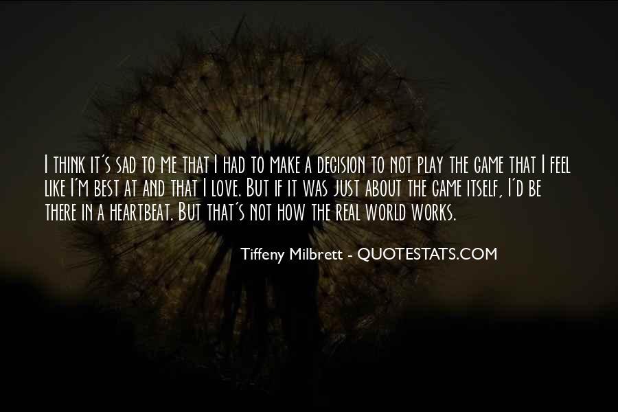 Best Sad Love Quotes #1294076