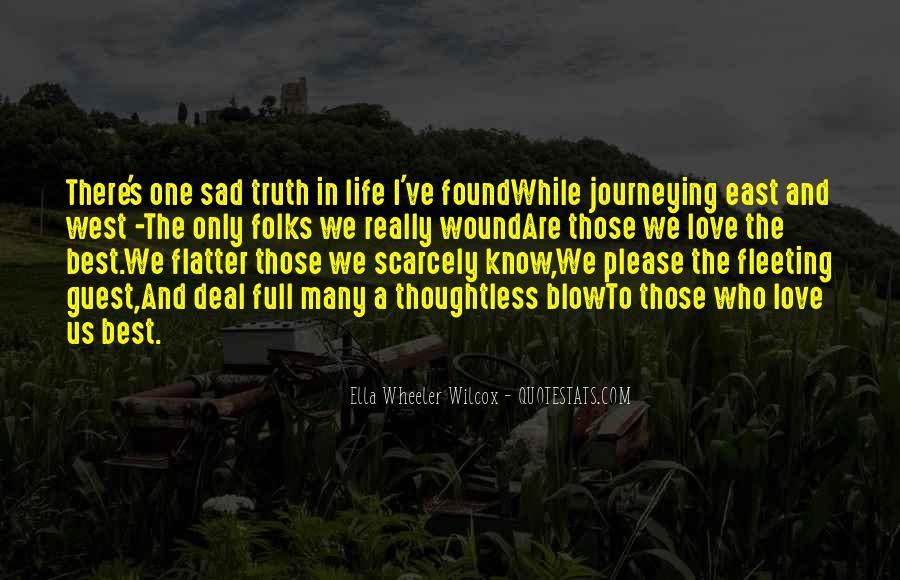 Best Sad Love Quotes #1423819