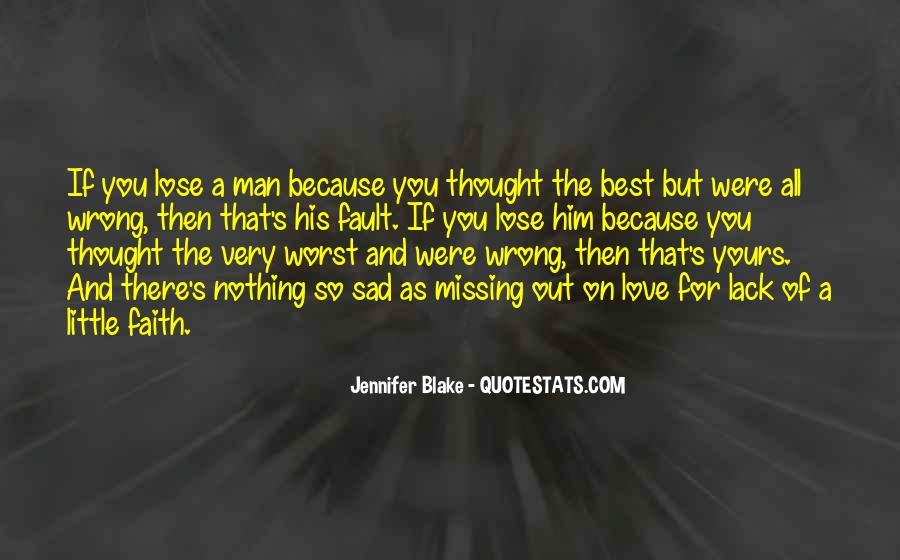 Best Sad Love Quotes #352281