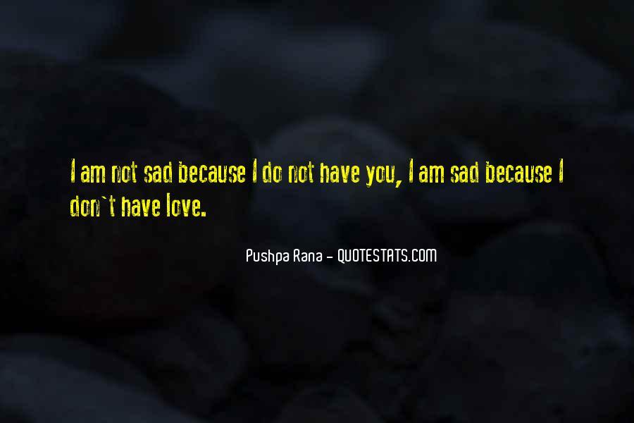 Best Sad Love Quotes #70133