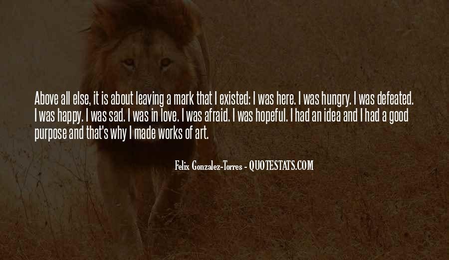 Best Sad Love Quotes #74594
