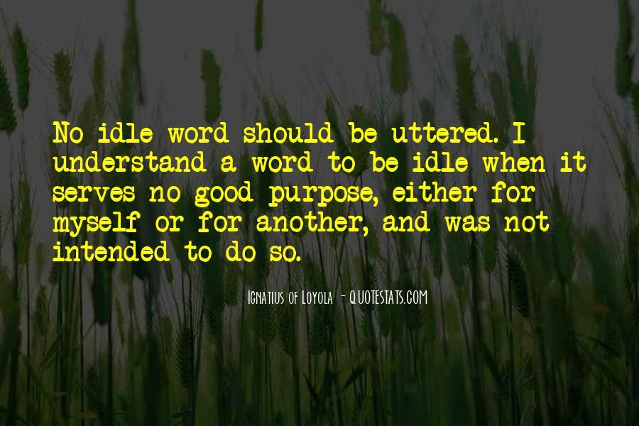 Best Saint Ignatius Of Loyola Quotes #999348