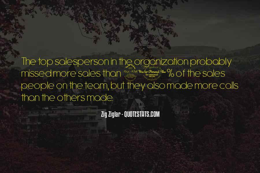 Best Sales Team Quotes #1727430