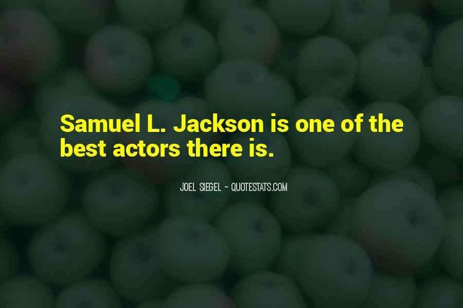 Best Samuel Jackson Quotes #454131