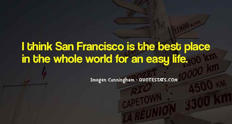 Best San Francisco Quotes #1029304