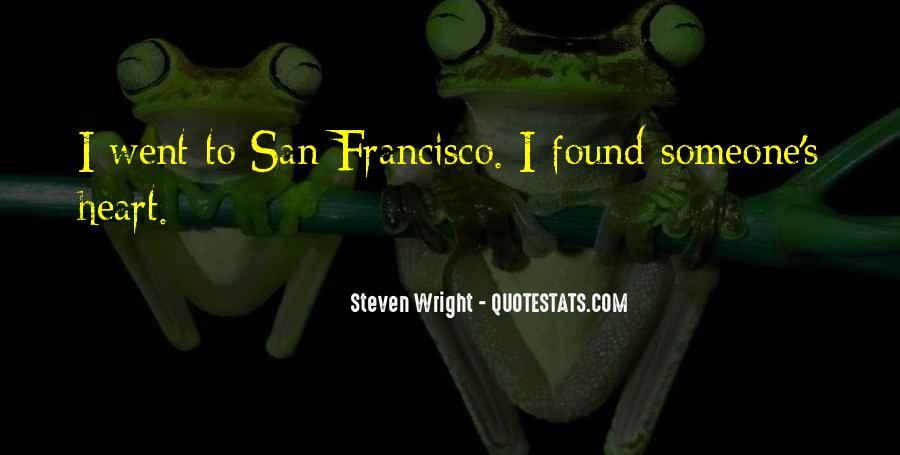 Best San Francisco Quotes #10568