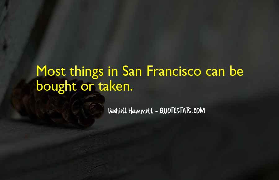 Best San Francisco Quotes #109746