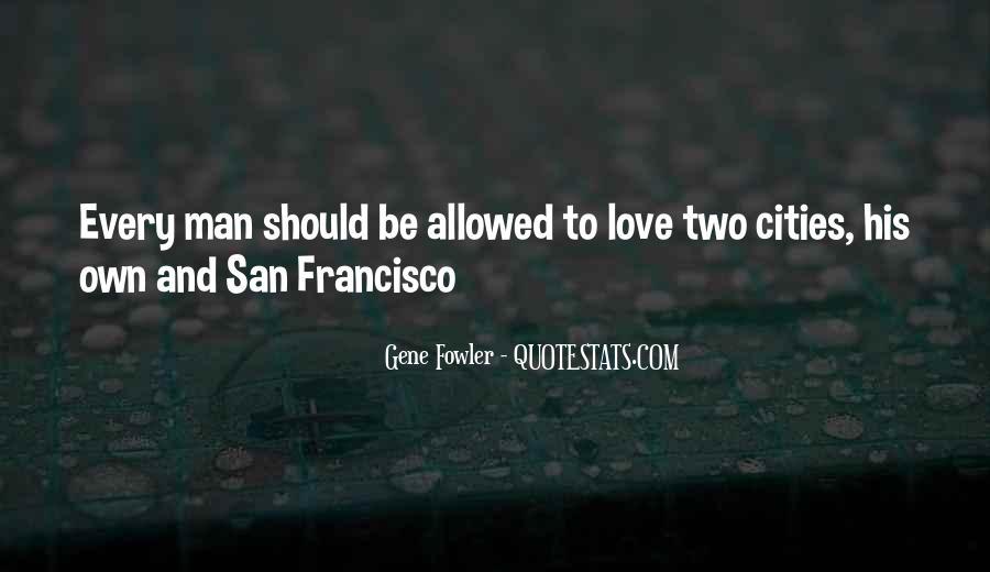 Best San Francisco Quotes #403