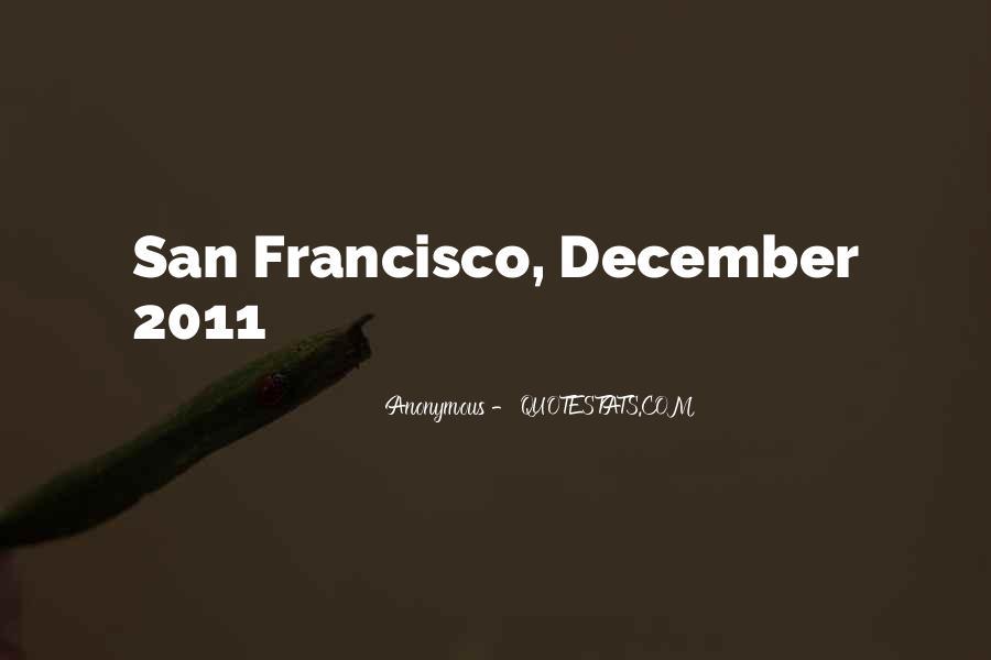 Best San Francisco Quotes #49689