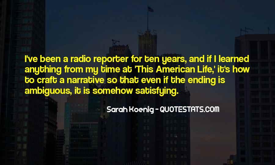 Best Sarah Koenig Quotes #450896