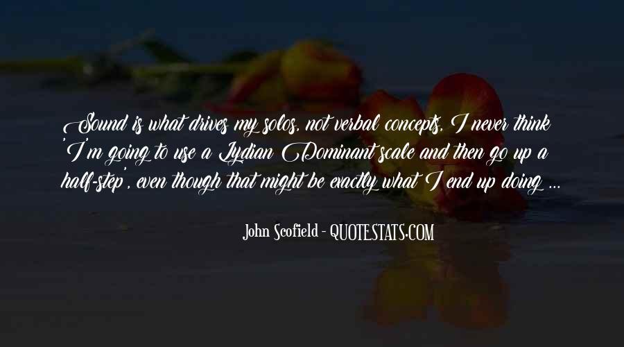 Best Scofield Quotes #123088