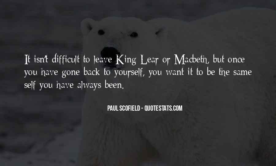 Best Scofield Quotes #162922