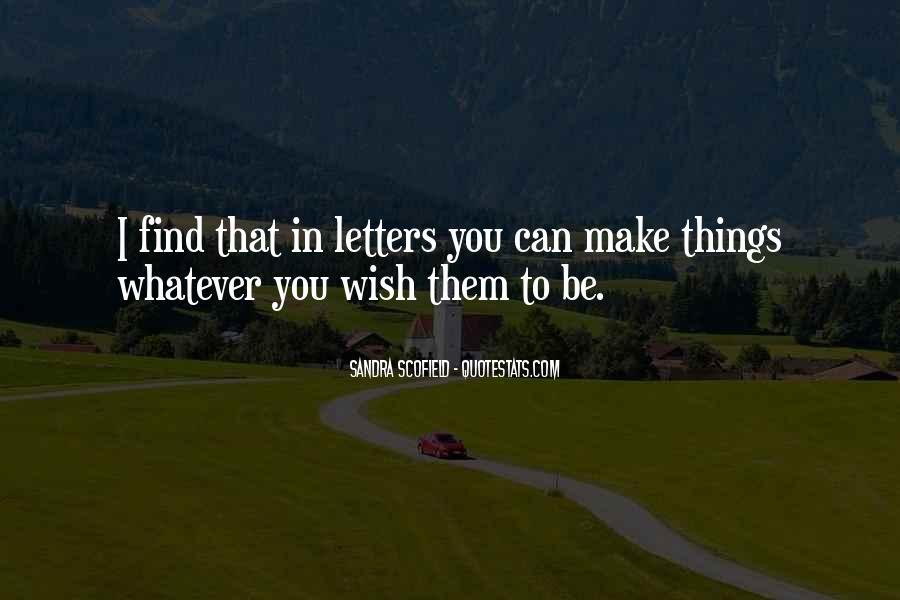 Best Scofield Quotes #532382
