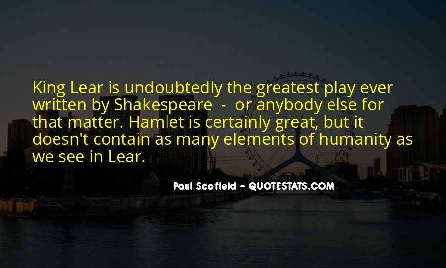 Best Scofield Quotes #883173
