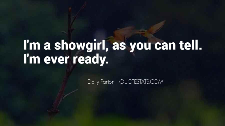 Best Showgirl Quotes #1706075