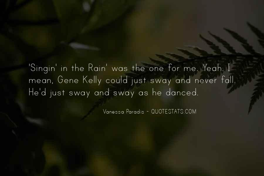Best Singin In The Rain Quotes #227677