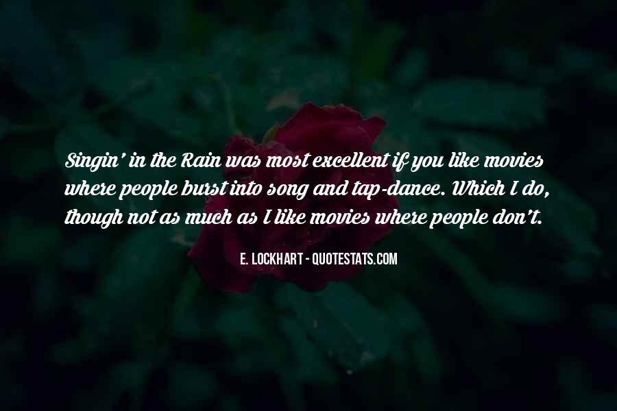 Best Singin In The Rain Quotes #809809