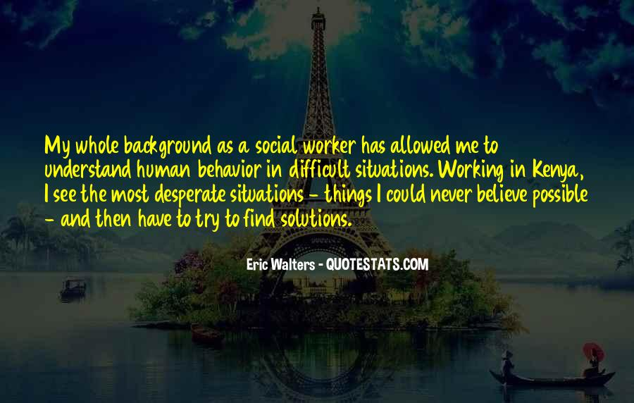 Best Social Worker Quotes #22240