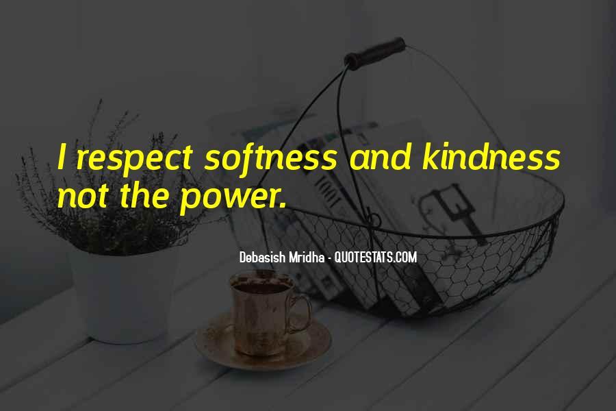 Best Softness Quotes #213985