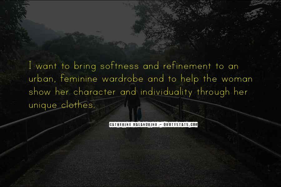 Best Softness Quotes #231557