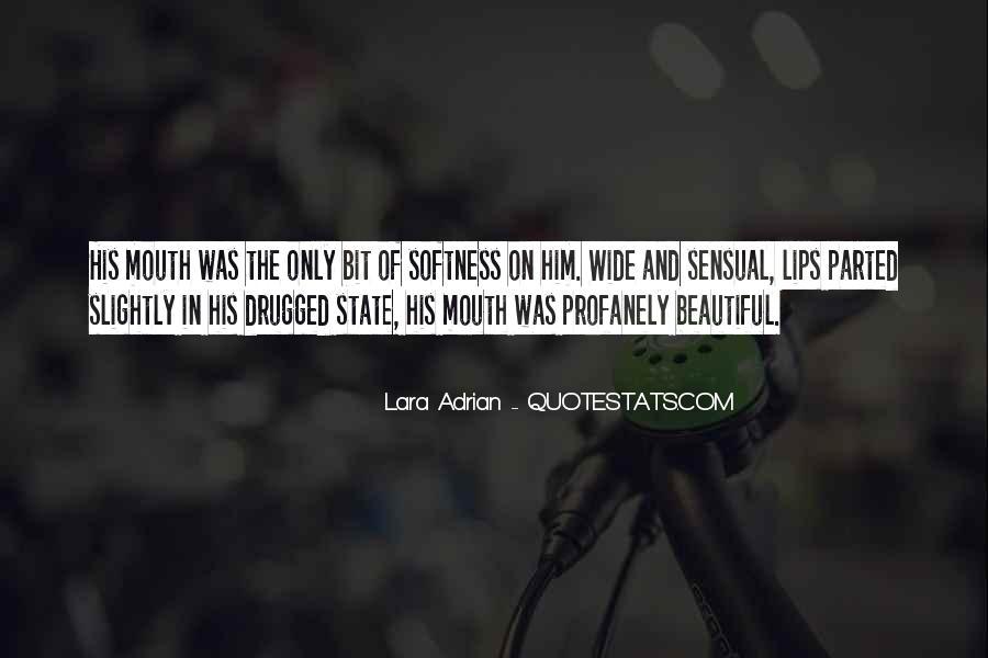 Best Softness Quotes #5038