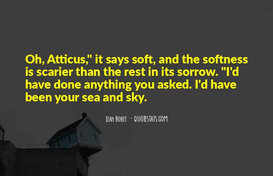Best Softness Quotes #50527