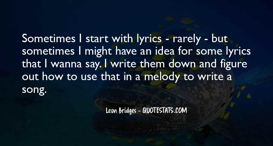 Top 30 Best Song Lyrics Ever Quotes: Famous Quotes & Sayings ...
