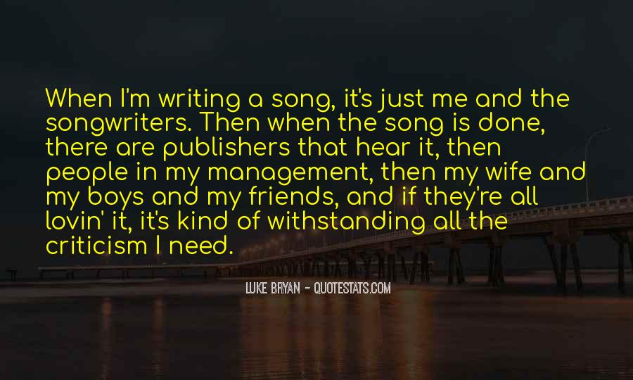 Best Songwriters Quotes #170644