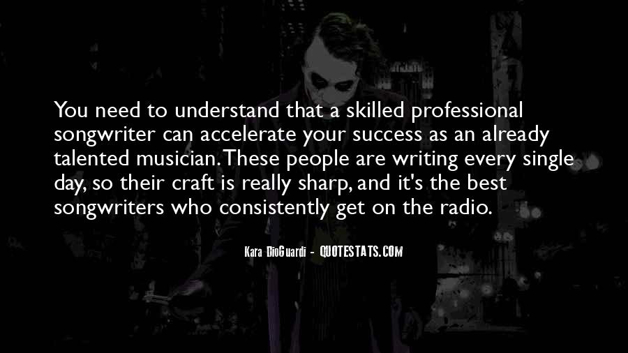 Best Songwriters Quotes #299527