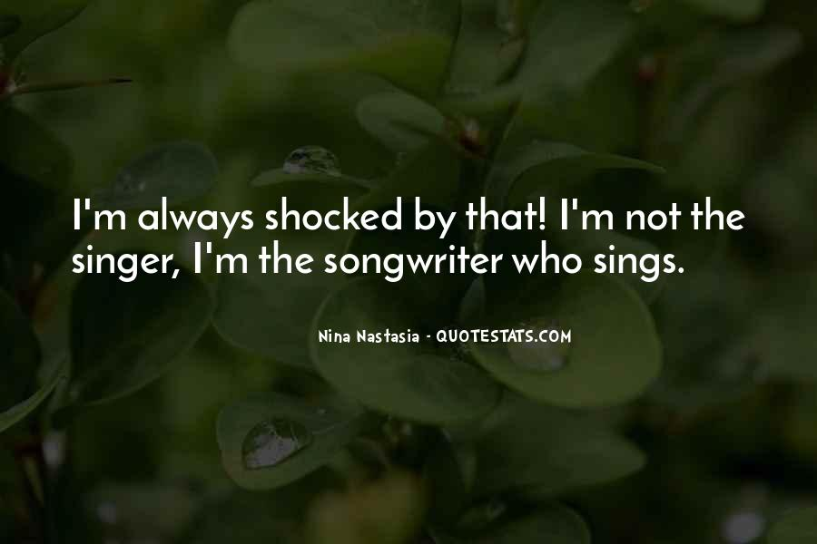 Best Songwriters Quotes #300773
