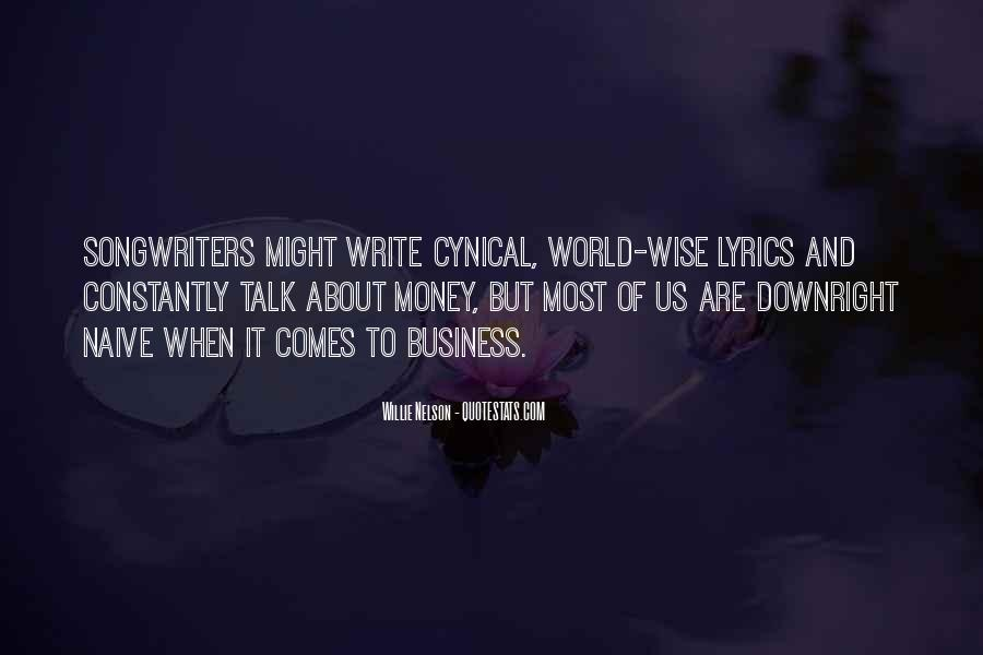 Best Songwriters Quotes #375381