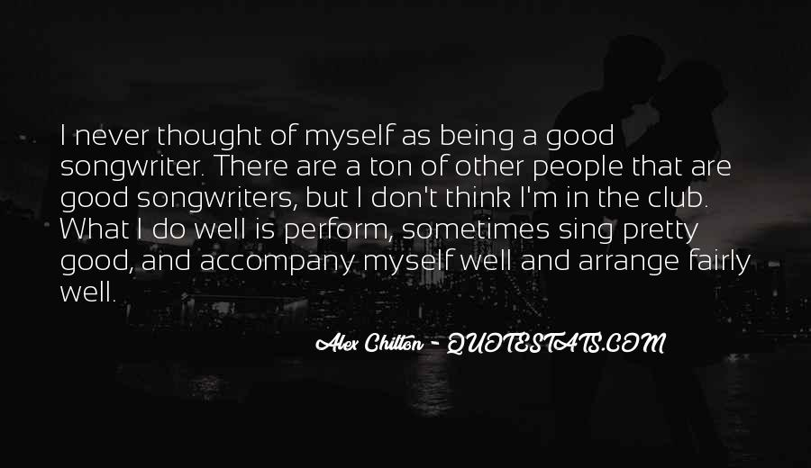 Best Songwriters Quotes #42195