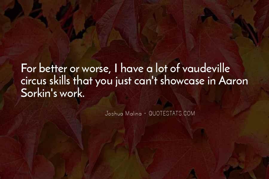 Best Sorkin Quotes #104235