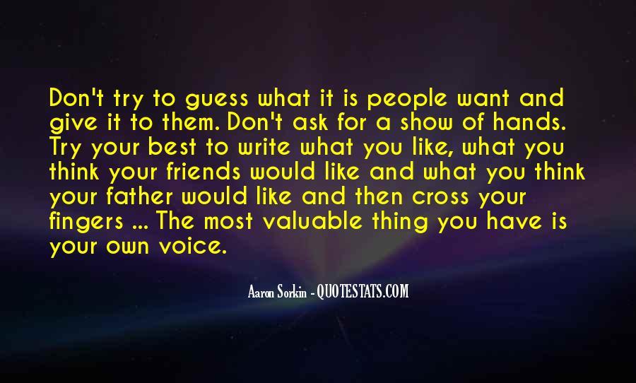 Best Sorkin Quotes #1113328