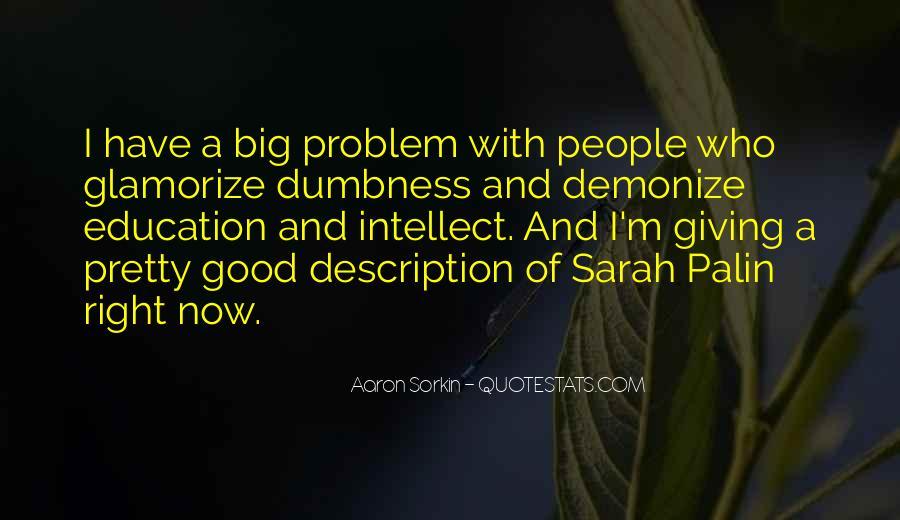 Best Sorkin Quotes #165996