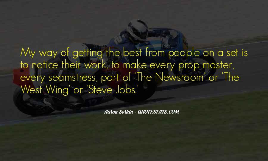 Best Sorkin Quotes #1755806