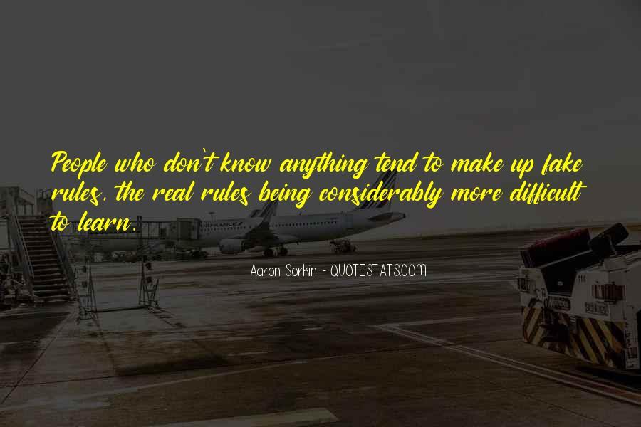Best Sorkin Quotes #325036