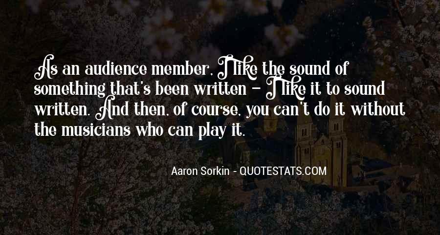 Best Sorkin Quotes #335167